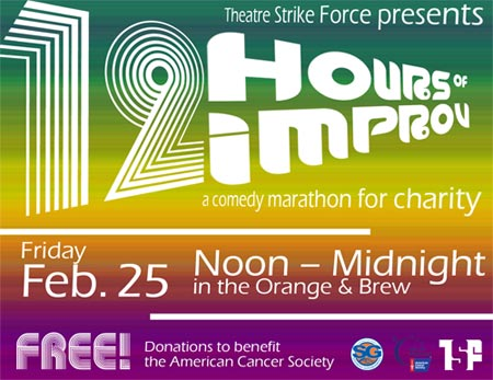 12 Hours of Improv Fundraiser