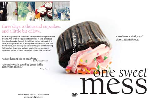 Cupcake Mock DVD Cover