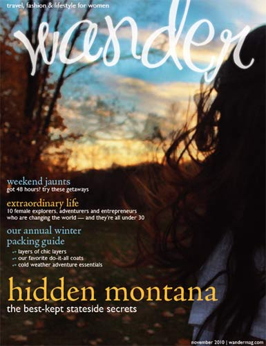 """Wander"" Magazine Cover"